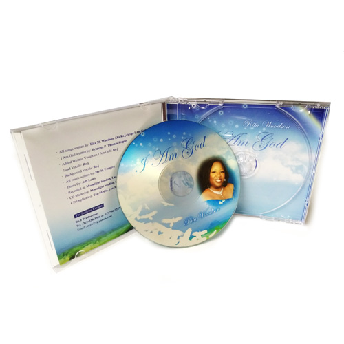 CD WITH 10.5 mm jewel case retail ready packaging